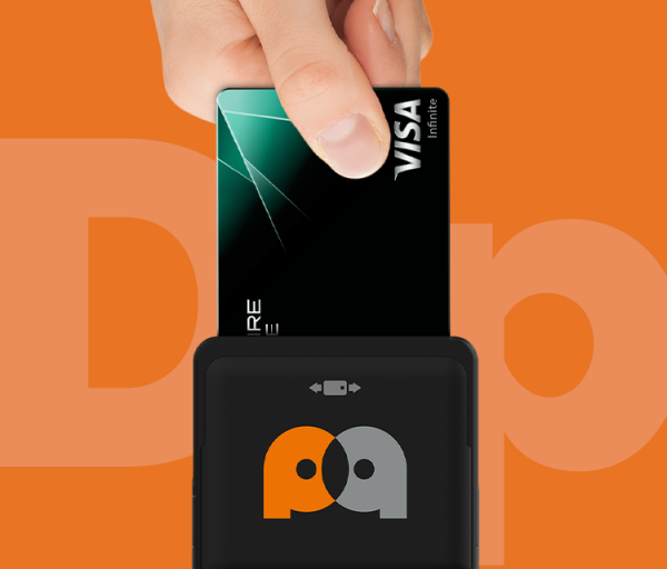 accept credit card reader by Oval