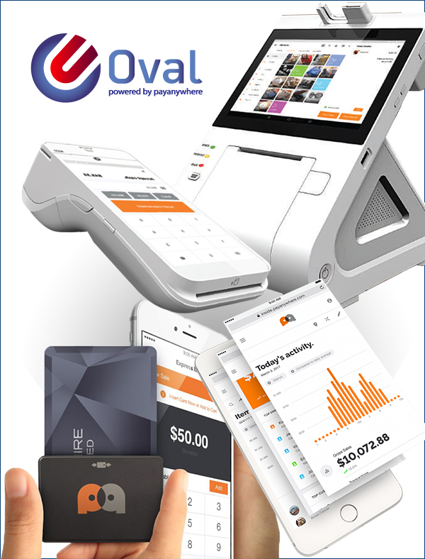 pay anywhere products by Oval